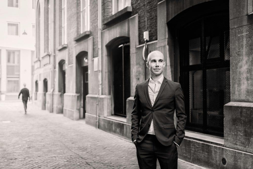 Benjamin Duerr Portretfoto. Fotograaf: Gregor Servais